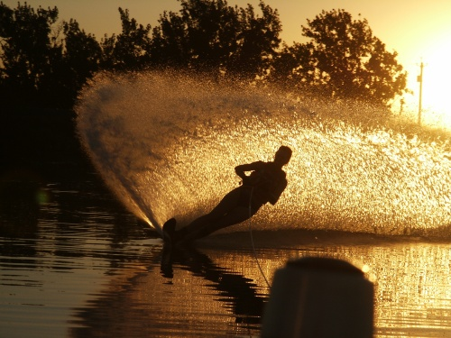 Late Waterski