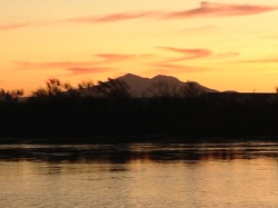 Sunset from Mildred Island