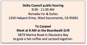 Carpool and Meeting Info