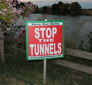 Stop the Tunnel Sign